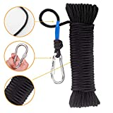 Wukong Fishing Magnet Rope w/Carabiner, 8MM x