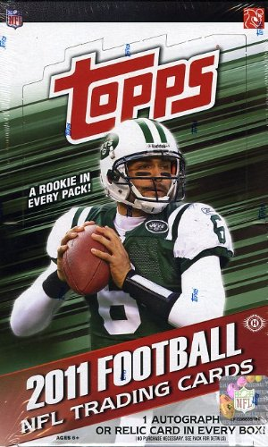 2011 Topps NFL Topps Football EXCLUSIVE Factory Factory Sealed 2011 RetailボックスPlusロゴRelic B005G4RJWC, ギフト工房エクセル:6ce5e4f1 --- harrow-unison.org.uk