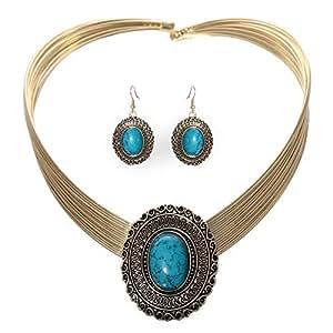Mela Western Wear Jewelry Set - 3 Pieces, NS6