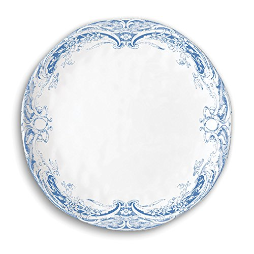 Michel Design Works Accent Plate, Antique Scroll