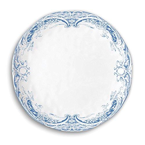 Michel Design Works Dinner Plate, Antique Scroll ()