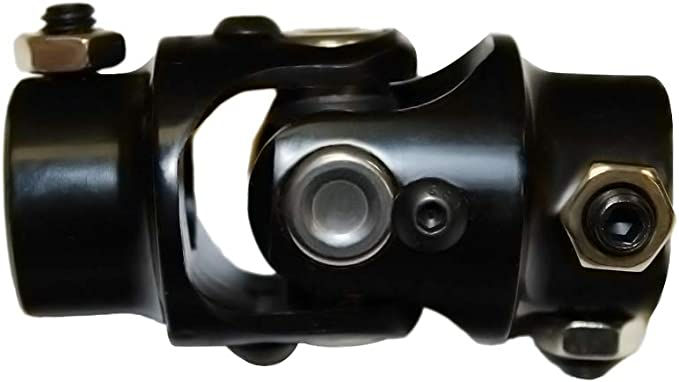 YYW Chrome Single Universal Steering U Joint Hot Rat Street Rod 3//4 DD x 3//4