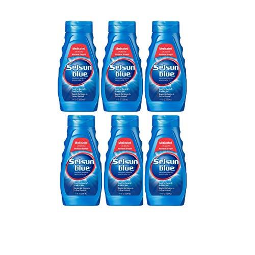 (Selsun Blue Medicated Dandruff Shampoo 11-Ounce Bottles (6 Count))