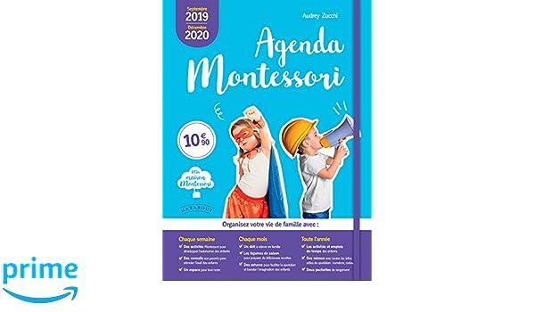 Agenda Montessori 2019-2020 (Vie Quotidienne): Amazon.es ...