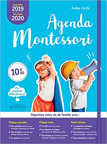 Agenda Montessori 2019-2020 (Vie Quotidienne): Amazon.es ...