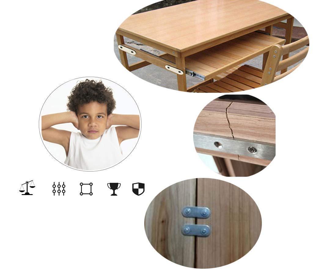 Chiloskit Support d/'angle en acier inoxydable pour meuble Angle L L