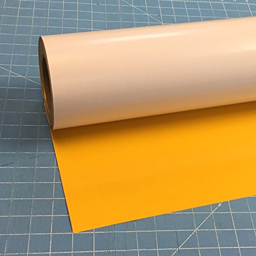 Siser Easyweed 15'' x 3' Iron on Heat Transfer Vinyl Roll - Yellow by Easyweed