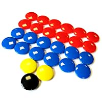 Precision Training Tactic Board Spare Magnets - 27 Magnets Per Set