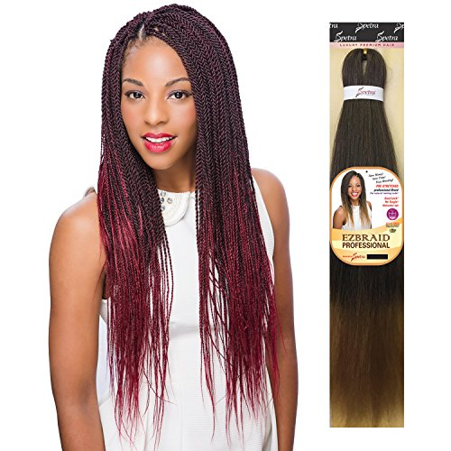 MULTI PACK DEALS! Oh Yes Hair Synthetic Hair Braids Ez Braids Professional 28'' (6-PACK, 1B) by Oh Yes (Image #3)