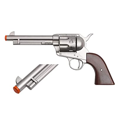 """12.5"""" Western Cowboy Army Revolver Cosplay Costume Foam Toy Redemption: Toys & Games"""