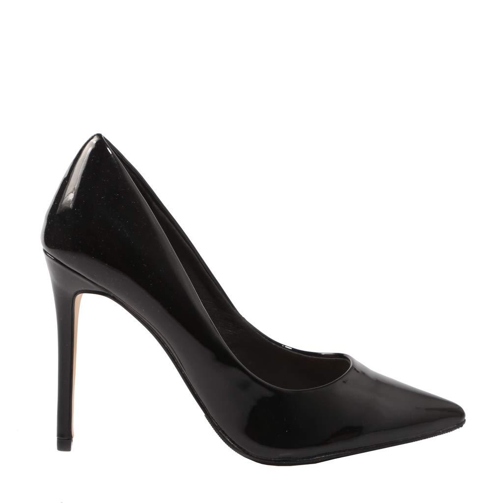 La Strada, patent Leather schwarz Heel schuhe, for Woman