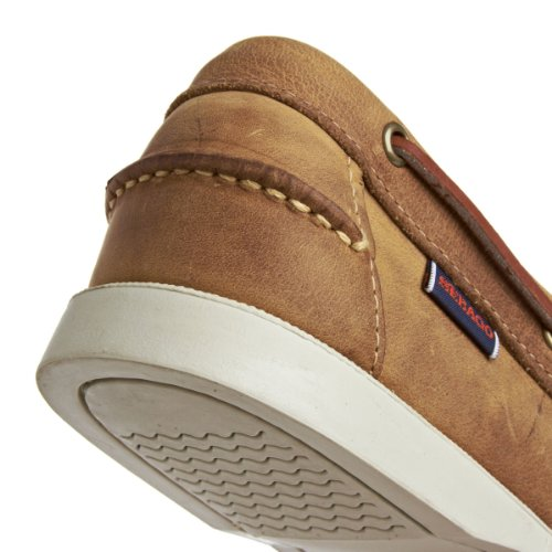 Sebago Mens Dockside Bateau Chaussure Beige