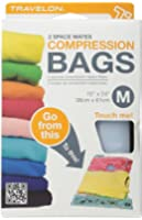 Travelon 2 Space Mates Compression Bags Medium