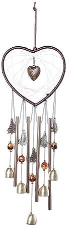 Set di 30 campane a vento vuote decorazioni giardino durevoli per casa esterni delicate Yardwe da appendere 5 diverse lunghezze portatili da appendere