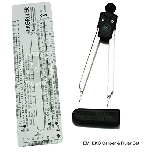 Scrubsmart EKG Caliper and EKG Ruler