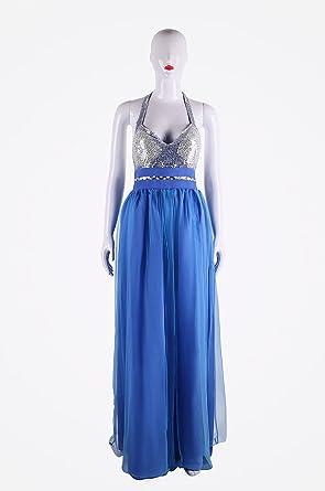 ilovgirl elegancka sukienka wieczorowa, z długim rękawem, seksowna, z dekoltem w kształcie litery V, na wesele, imprezę, bal przebierańcÓw: Odzież