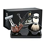 GUDUO Shaving Stand Deluxe Razor and Brush Stand