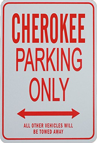 Cherokee Jeep Sign - 1