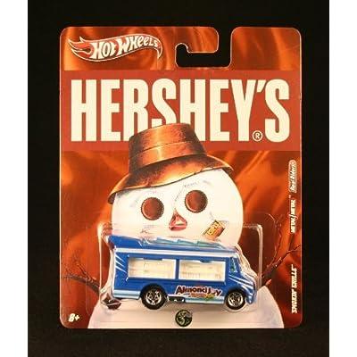 Hot Wheels SMOKIN' GRILLE ALMOND JOY Hershey's 2011 Nostalgia Series 1:64 Scale Die-Cast Vehicle: Toys & Games