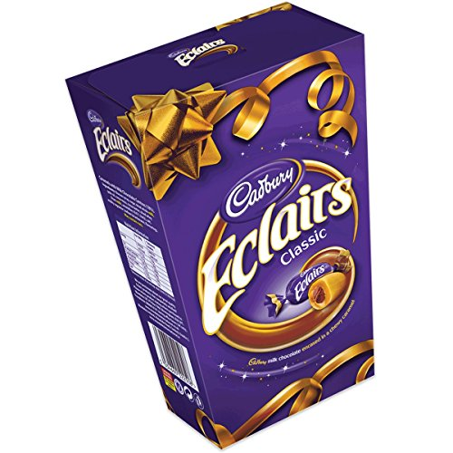 Original Chocolate Cadbury Eclair Candy Imported From The UK England The Best Of British Chocolate Candy Eclairs ()