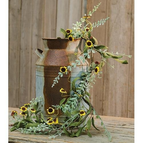 Heart of America Bird's Eye Daisy Garland 4Ft Yellow