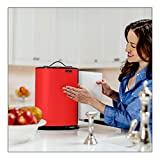 Innovia Hands Free Countertop Automatic Paper Towel Dispenser - Red