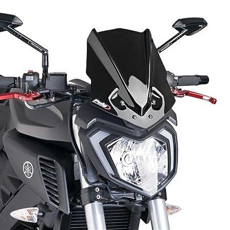 15 PUIG 7654H : C/úpula Carenabris Parabrisas New Generation Yamaha Mt 125 Color Ahumado Yamaha Mt-125