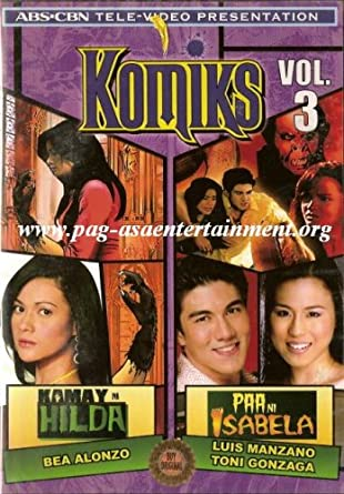 Amazon com: Komiks Volume 3 - Philippine Tagalog Tele-Video
