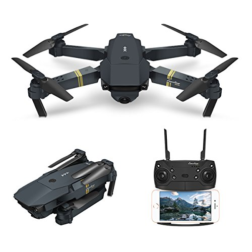 Drone With Camera, EACHINE E58 WIFI FPV Quadcopter With 2MP 720P Wide Angle...
