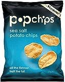 Popchips Original Popped Single Serve Potato Chips 23 g(Pack of 24)