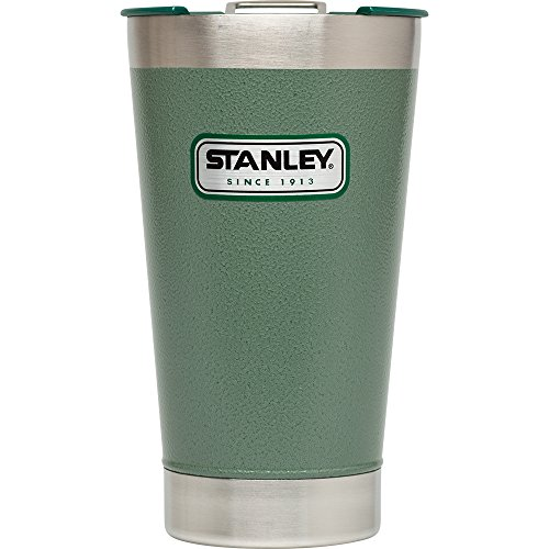 Stanley Classic Vacuum Pint 16oz Hammertone Green from Stanley