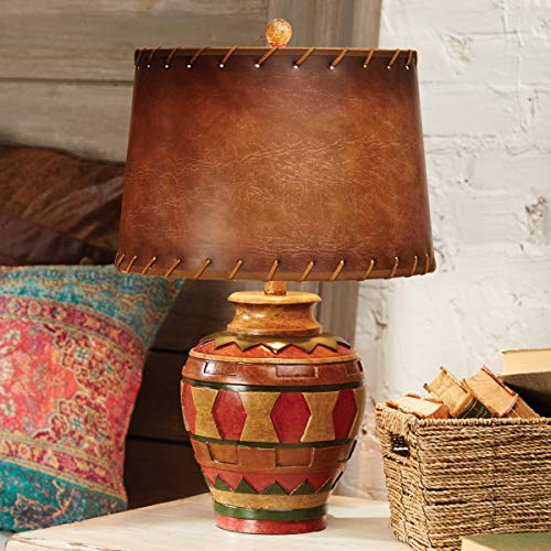 - Black Forest Décor Great Plains Pottery Table Lamp