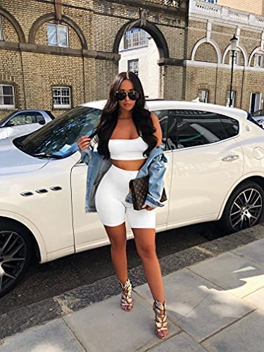 2 piece white outfit _image4