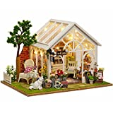 #6: CUTE HOUSE Miniature 3D House Model Kits, Handmade DIY House with Music Device for Home Décor, Gift Idea, Decoration & Collection(Sunshine Garden)
