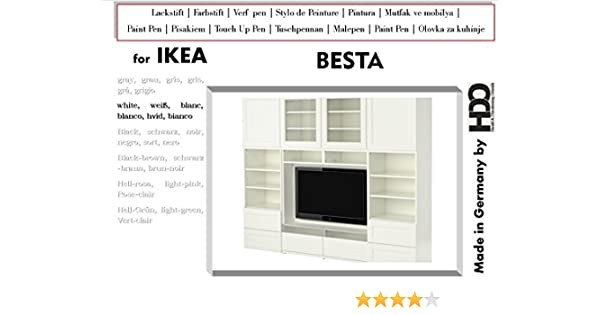 Touch Up Paint For Ikea Besta White Blanc