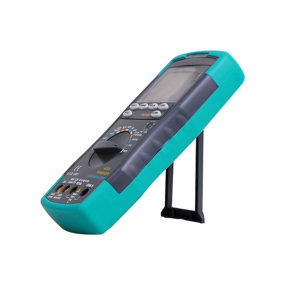 Sanmubo 21,5X13X4,8cm HoldPeak HP890CN Multim/ètre num/érique LCD stable Courant alternatif de tension CA