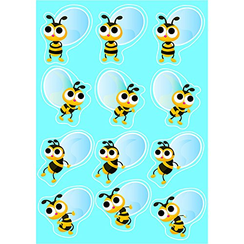 - Ashley Productions Bees Die-Cut Magnet