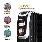 Aigostar-Oil-Monster-33JHH-Radiatore-elettrico-13-elementi-con-schermo-a-LED-Telecomando-a-distanza-Potenza-2500W-Design-esclusivo