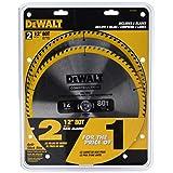 DEWALT DW3128P5D80I Series 20 12-Inch 80T Circular Saw Blade, 2-Pack