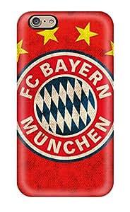 Austin B. Jacobsen's Shop Best Anti-scratch And Shatterproof Bayern Munchen Fc Logo Phone Case For Iphone 6/ High Quality Tpu Case 4266670K39829717