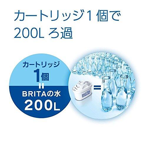 BRITA ブリタ 浄水 ポット カートリッジ マクストラ 2個セット 【日本仕様・日本正規品】 MAXTRA