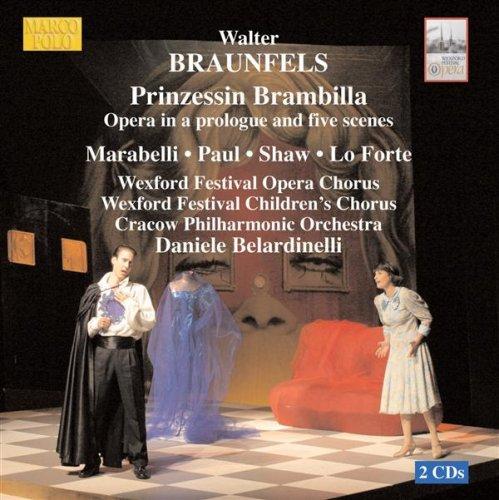Prinzessin Brambilla: Scene 5: Edler Herr und Dame, tretet freundlich ein (Pantalone, Chorus, Claudio, Giazinta, Prince) (Marco Polo Herren)