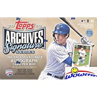 $54 » 2020 Topps Archives Signature Series Active Players Edition Baseball Factory Sealed HOBBY…
