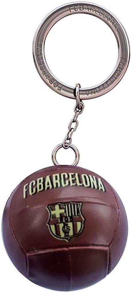Llavero F.C. Barcelona Balón Vintage: Amazon.es: Deportes y aire libre