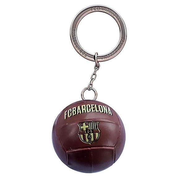 Llavero F.C. Barcelona balón vintage [AB2192]: Amazon.es: Deportes ...