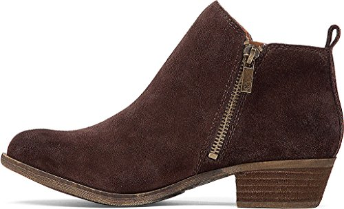 Lucky Brand Damen Basel Boot Java Wildleder