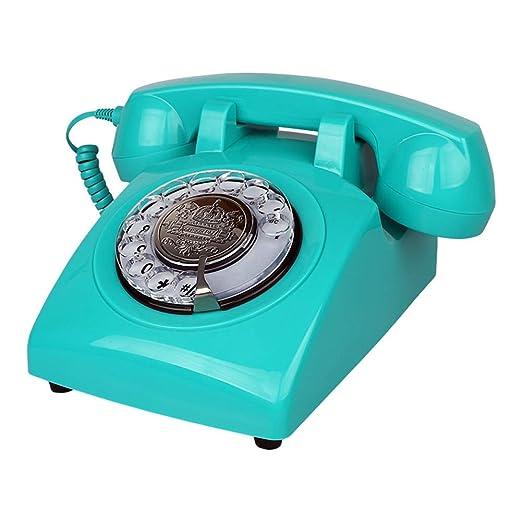 GWFVA Teléfono con Cable-American Retro Landline-Home Office ...