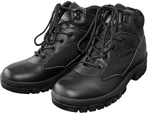McAllister Semi Cut Boots in 2 verschiedenen Farben wählbar Farbe Schwarz Größe 45