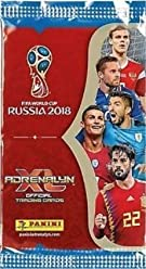 457b4dc99ce Panini 2018 WORLD CUP RUSSIA Adrenalyn XL Soccer Cards. FIFTY (50) Packs.