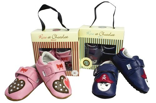 Rose & Chocolat Rcm Rockabye Brown - Zapatillas de running Bebé-Niños Marrón (brown)